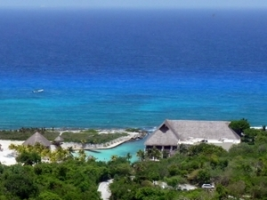 Xcaret from Playa del Carmen Photos