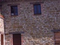 a chef in ancient Umbrian farmhouse