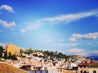 House close to Alhambra in Granada
