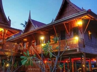 Riverside Traditional Thai house