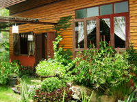 Rustic homestay in organic garden