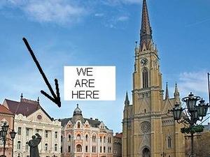 Downtown Novi Sad