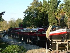 Houseboat Péniche Mirage