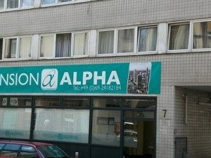 Pension Alpha Frankfurt