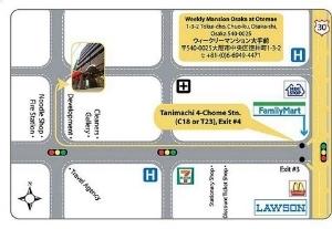 Weekly Mansion Osaka At Otemae