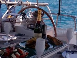 Private Luxury Dinner on Board Moored in Athens