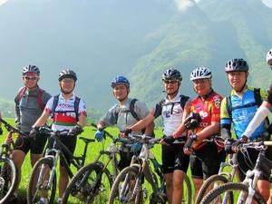 Dalat Mountain Biking with Viet Action Tours Photos