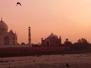 Agra Motorcycle Tour Photos