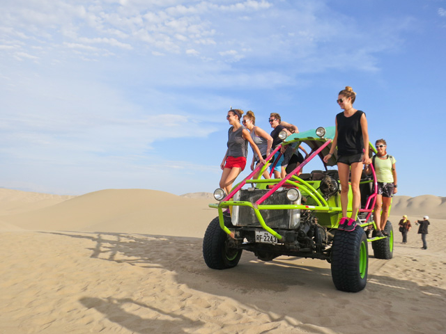 Dune Buggy & Sanboarding Photos