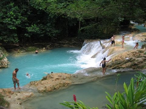 Blue Hole River Gully Rain Forest Adventure Tour from Ocho Rios Photos