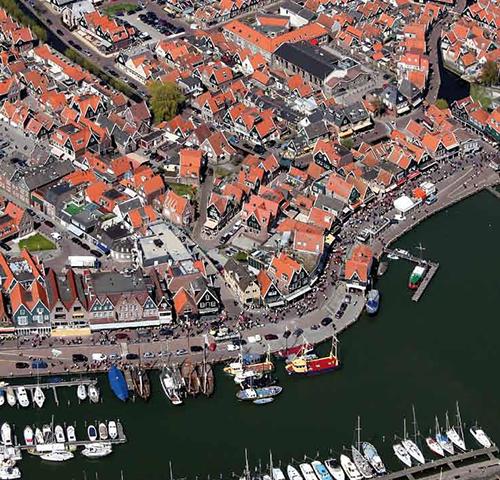 Volendam Tour - Helicopter Photos