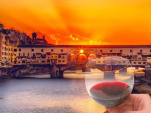 Wine Tour at Sunset