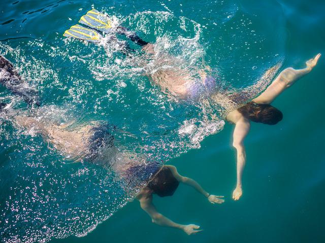 Island Sailing Snorkeling Photos