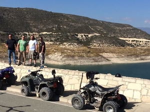 Lady's Mile-Kourion-Alassa Dam Quad Safari