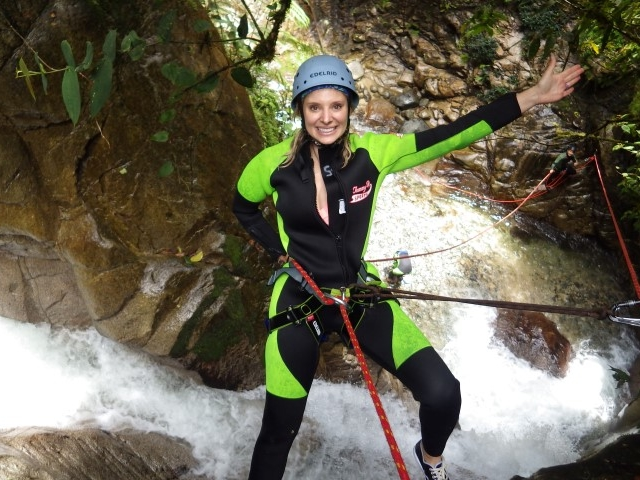 Canyoning Banos Ecuador 3.3.III Photos