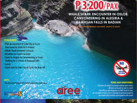 Day Tour Package B P3,200/Pax