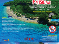 Day Tour Package C P4,150/Pax