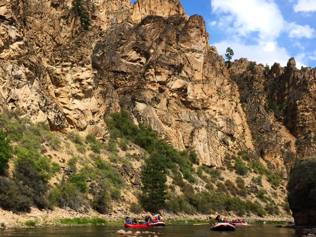 Whitewater Rafting Adventure Photos