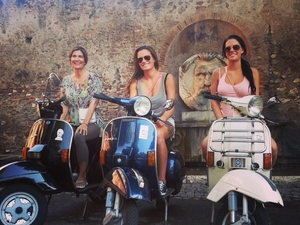Vespa Tour in Rome - Winter 2014