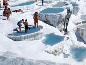 Pamukkale and Aphrodisias Have Been Seen Never Cotton Castle? Photos