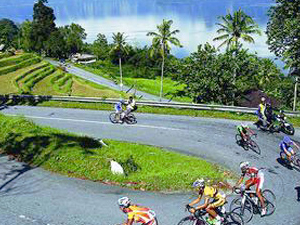 West Sumatra Bicycle Tour Photos