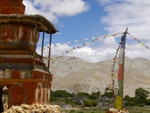 Upper Mustang Trekking in Nepal Photos