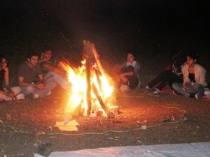 Camping At Koraigad On 31st December! Photos