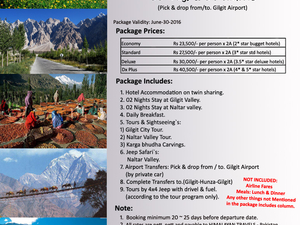 Gilgit & Naltar Honeymoon & Family Tour Photos