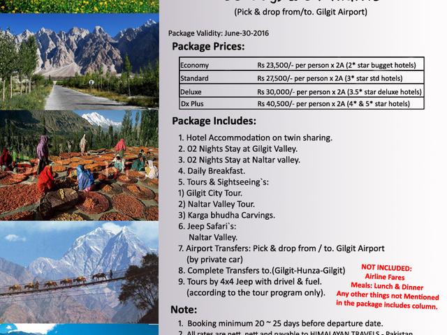 Gilgit & Naltar Honeymoon & Family Tour Photos