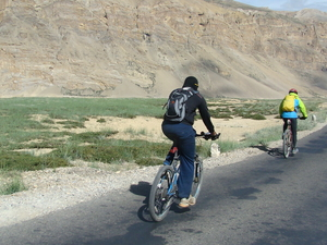 Himalayan Mountain Cycling || Manali To Leh Cycling Photos