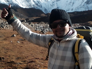 Trekking In nepal Photos
