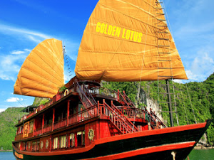 Ha Long Bay 2 Days With 1 Night on Golden Lotus Cruise Photos