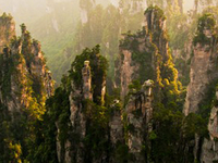 Sunrise Tour in Zhangjiajie Photos