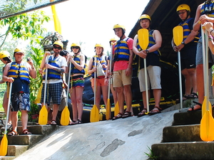 Batur Trekking and Bali White Water Rafting