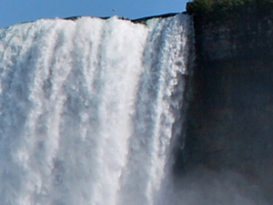Cascate del Niagara in volo da New York Photos