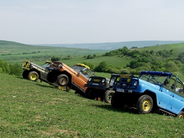 Jeep Safari in Balkan Mountain Photos