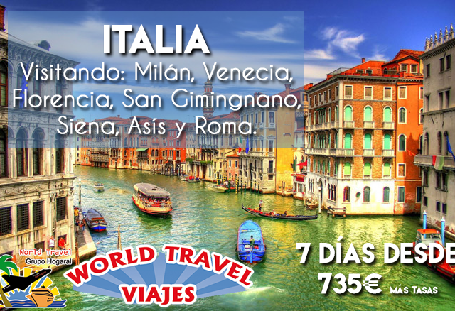 Italy Tour Package Photos