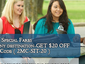 Student Flight Tickets - Get $20 Off