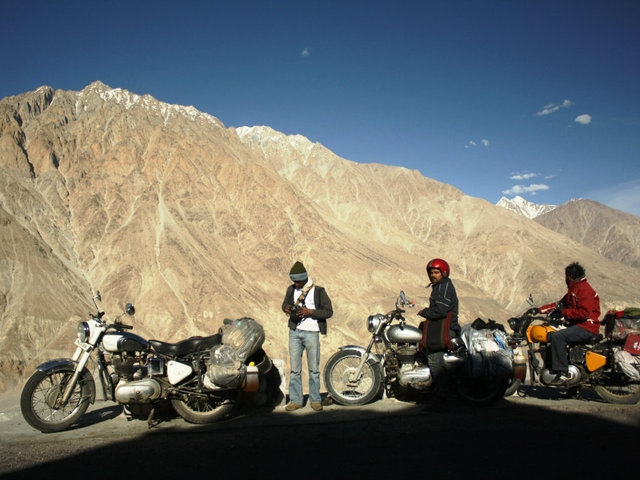 Leh Motorbiking Tour Photos