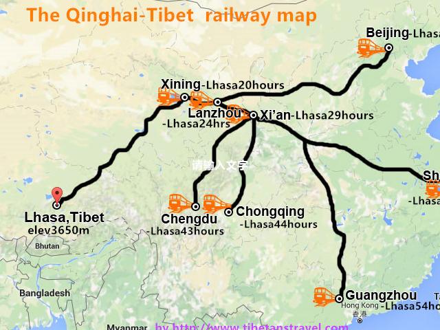 Beijing-Lhasa Train Tour in 2017 Photos