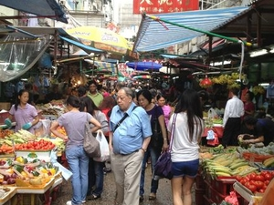 Hong Kong Market Walking Tour: Mongkok District Photos