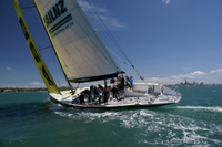 America's Cup Sailing on Auckland's Waitemata Harbour Photos