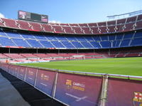 Barcelona Camp Nou Football Stadium Tour from Costa Brava with Optional Montjuic Fountains Light Show  Photos