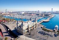 Barcelona Transfer: Central Barcelona to Cruise Port Photos