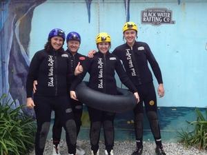 Black Water Rafting Waitomo Caves Tour Photos