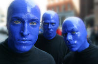 Blue Man Group Boston Show Admission  Photos
