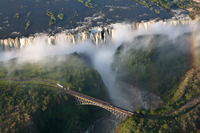 Bungee Jump from Victoria Falls Bridge Photos