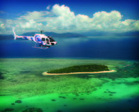 Cairns Shore Excursion: Green Island by Helicopter and Cruise Photos
