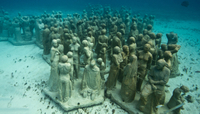 Cancun Underwater Museum Photos