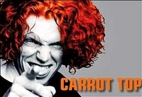 Carrot Top at the Luxor Hotel Photos